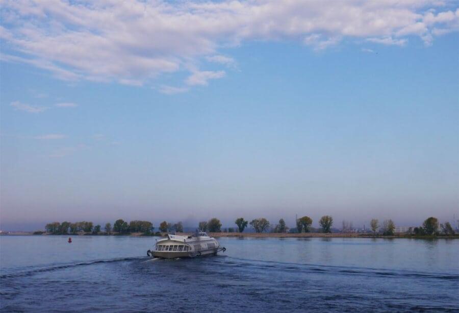 путь на остров по воде