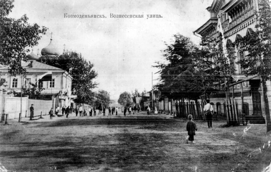 улица Вознесенская до революции