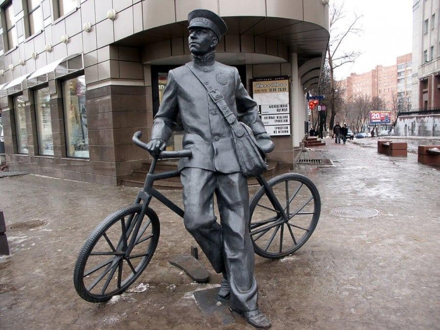 Почтальон и его велосипед
