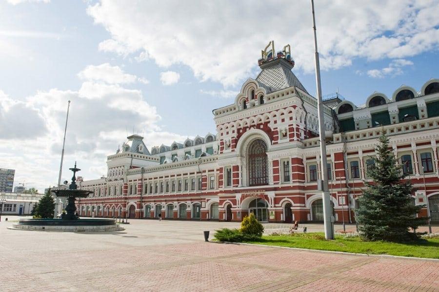 здание в советские времена