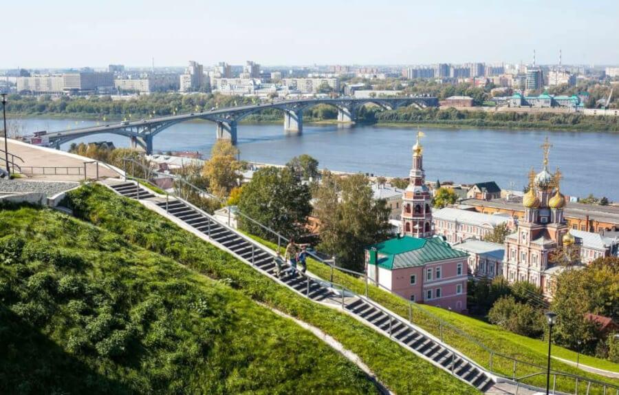 Нижний Новгород - древний город с молодым лицом