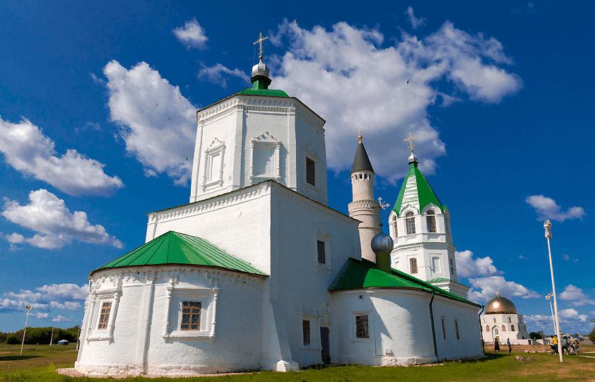 Успенская Церковь в городе Болгар