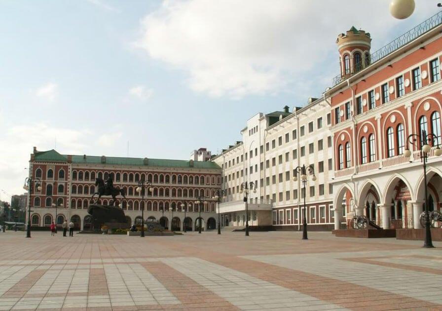 Площадь Оболенского Ноготкова