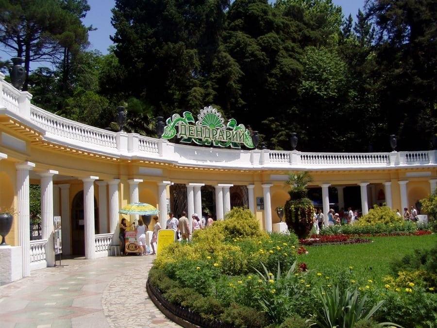 Ботанический сад - Сочинский Дендрарий