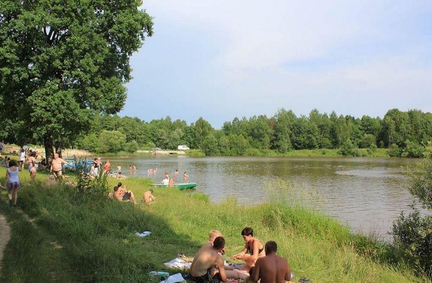 Большое озеро в Ессентуках