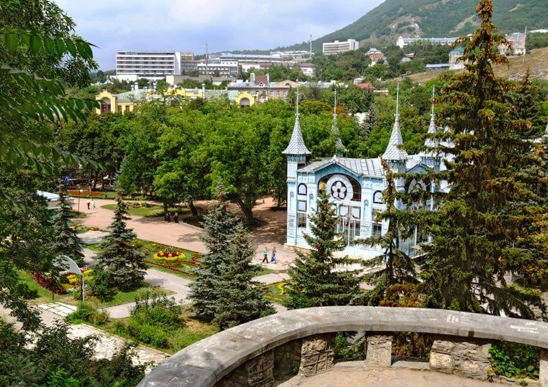 Центральный парк Цветник