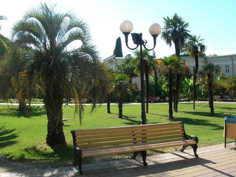 парки и скверы