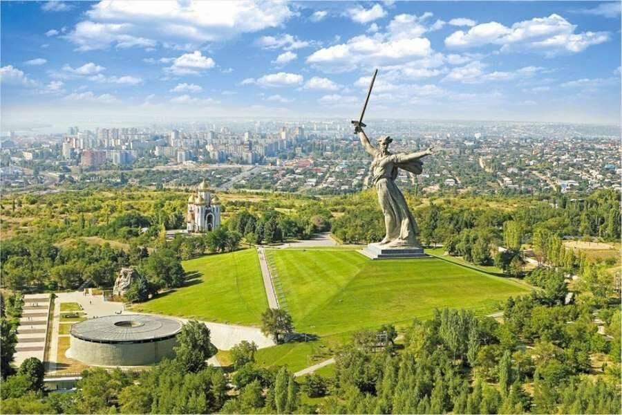 Волгоград - город победы