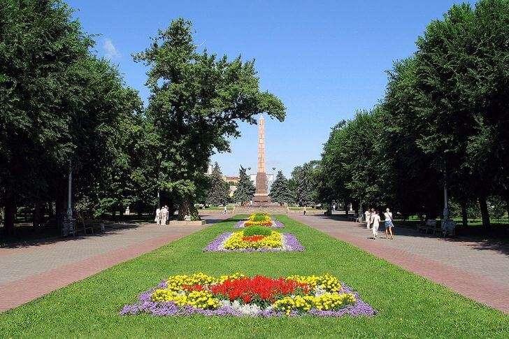 Площадь павших бойцов
