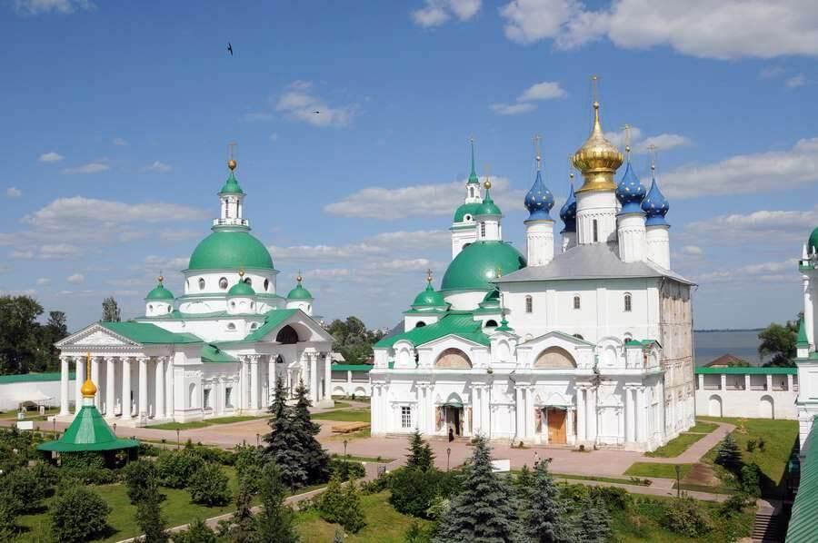 посещение Спаса-Преображенского монастыря в Ярославле