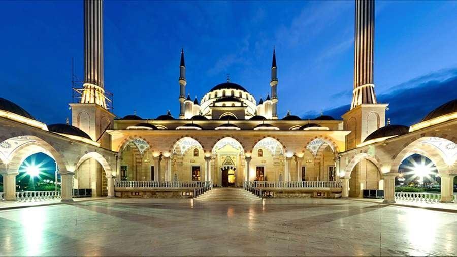 Мечеть в темное время