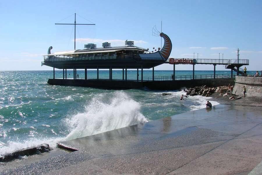 ресторан корабль