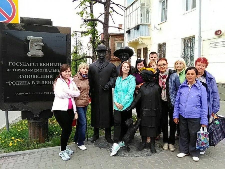 Туристы в Ульяновске