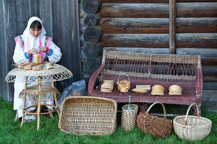 плетение карзин
