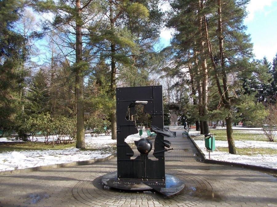 памятник Мюнхаузену