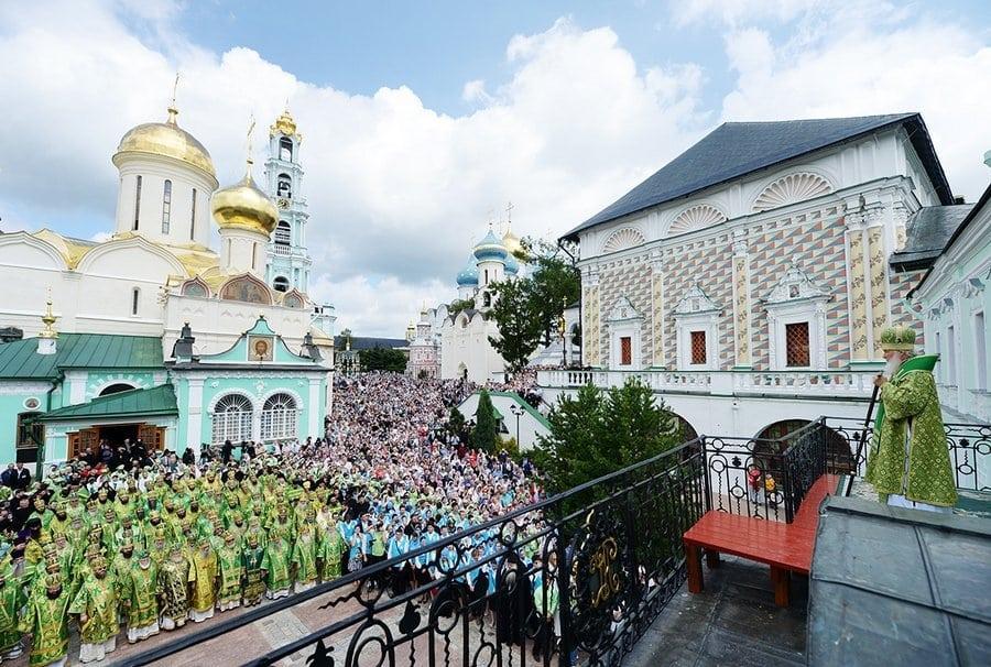 Троице-Сергиева Лавра - центр русского Православия