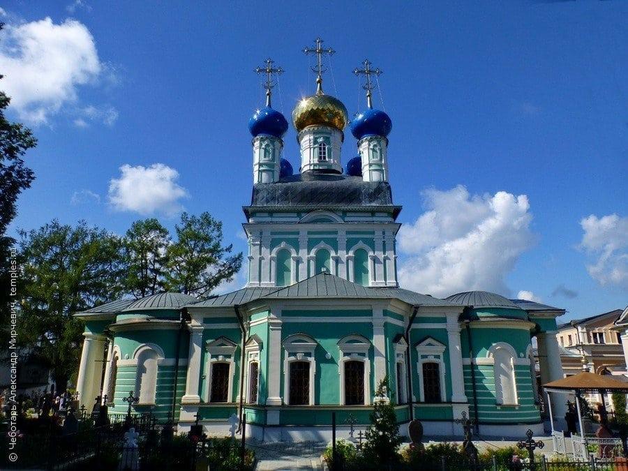 Оптина Пустынь - духовная лечебница в центре России