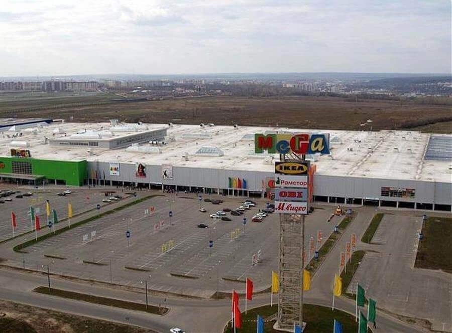 ТЦ «Мега» в Казани - схема проезда, преимущества, магазины, услуги и развлечения