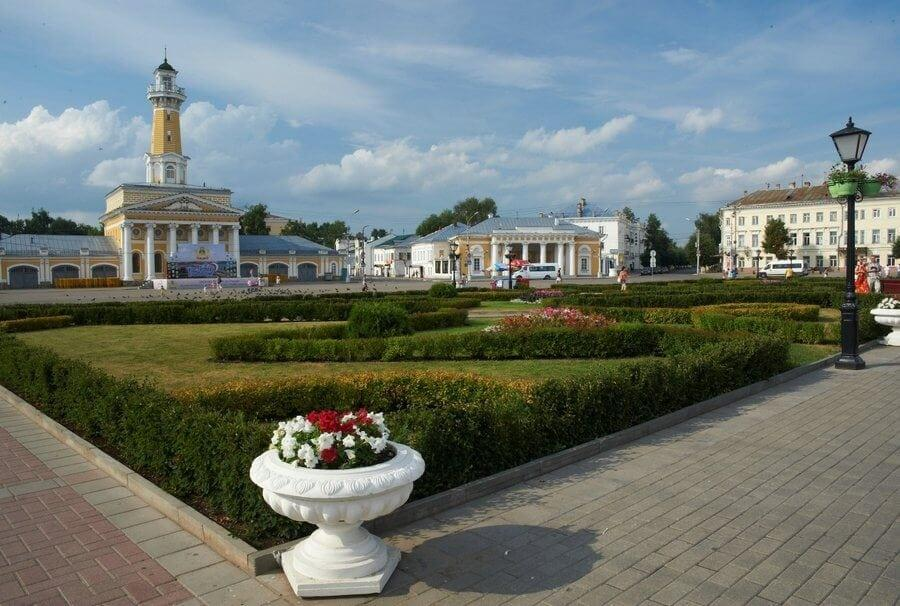 Кострома - сокровищница культурных памятников