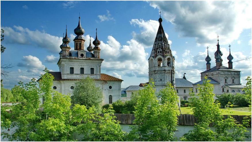 старинные церквушки
