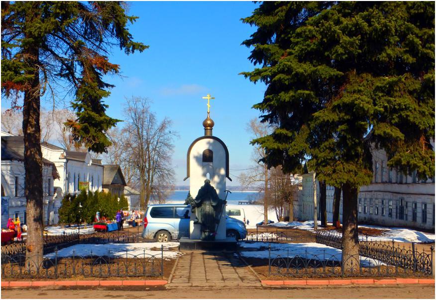 Калязин - старинный городок на Волге. Как добраться и что посмотреть