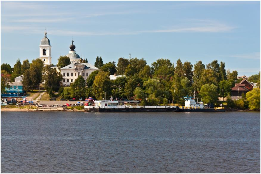Храм в городе Мышкин