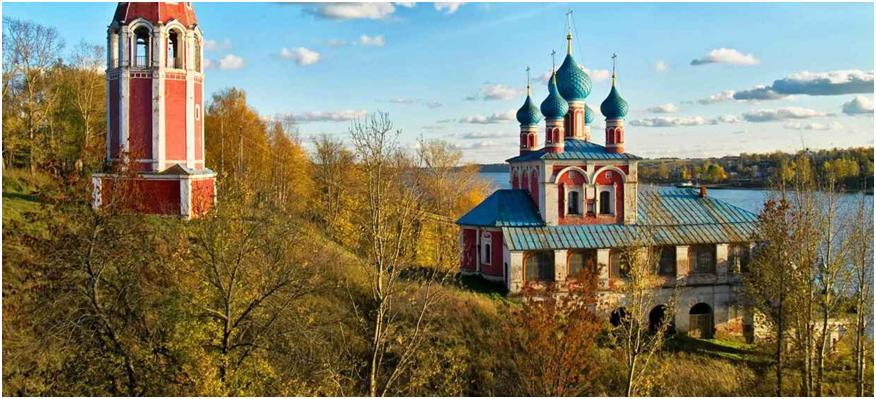 Тутаев - один город, два берега