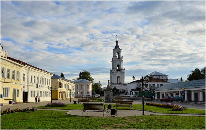 Нерехта - провинциальный городок со спокойной атмосферой