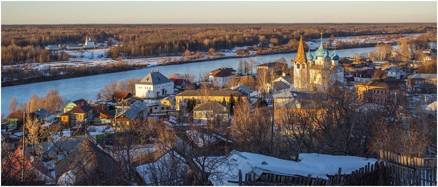 город зимой прекрасен