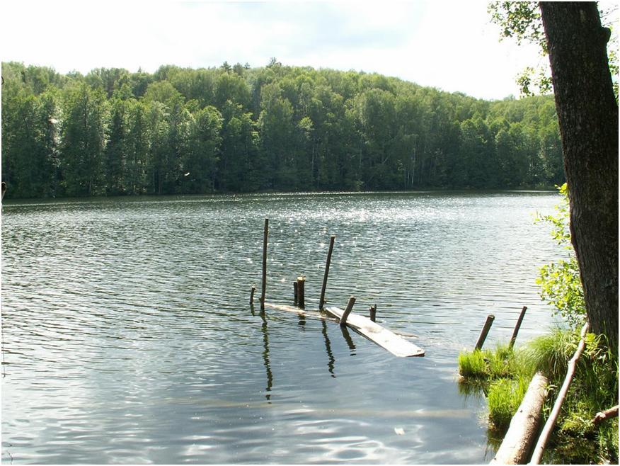 Озеро Конан-ер – таинственное место у восточного склона останцовой возвышенности в Марий Эл