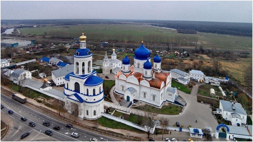 Свято-Боголюбский монастырь в Боголюбово – архитектура, Боголюбская икона Божией Матери