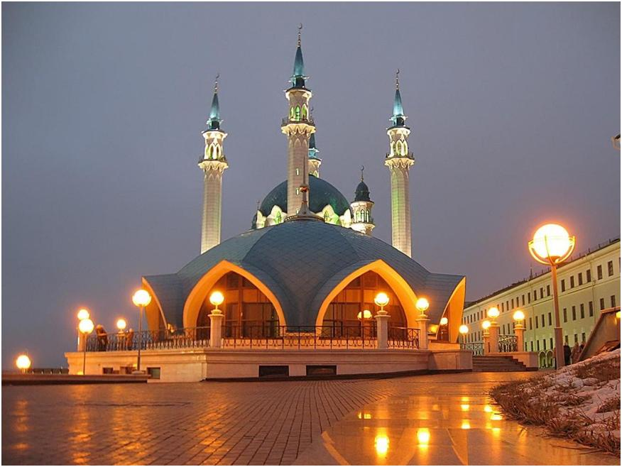 Мечеть Кул Шариф в Казани