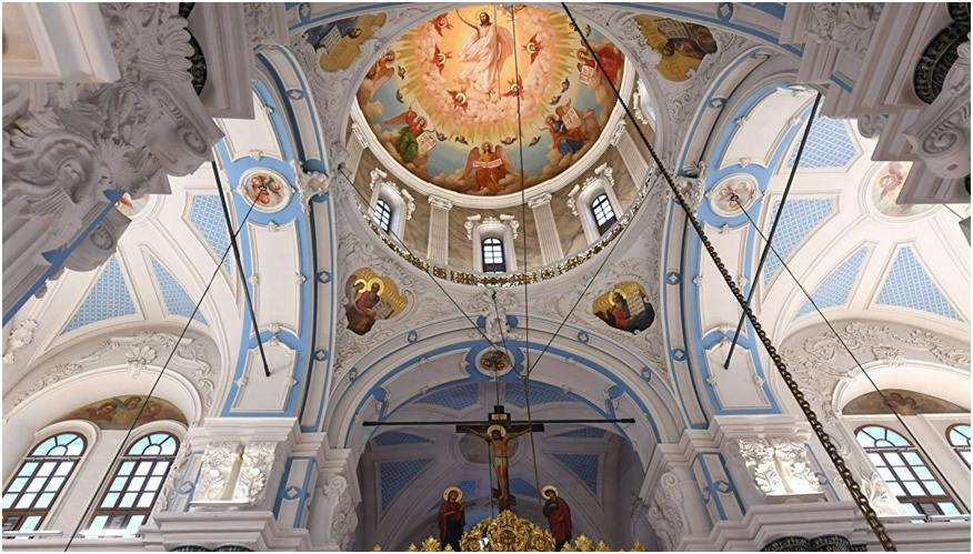 Новоиерусалимский или Воскресенский монастырь – священная достопримечательность Истры