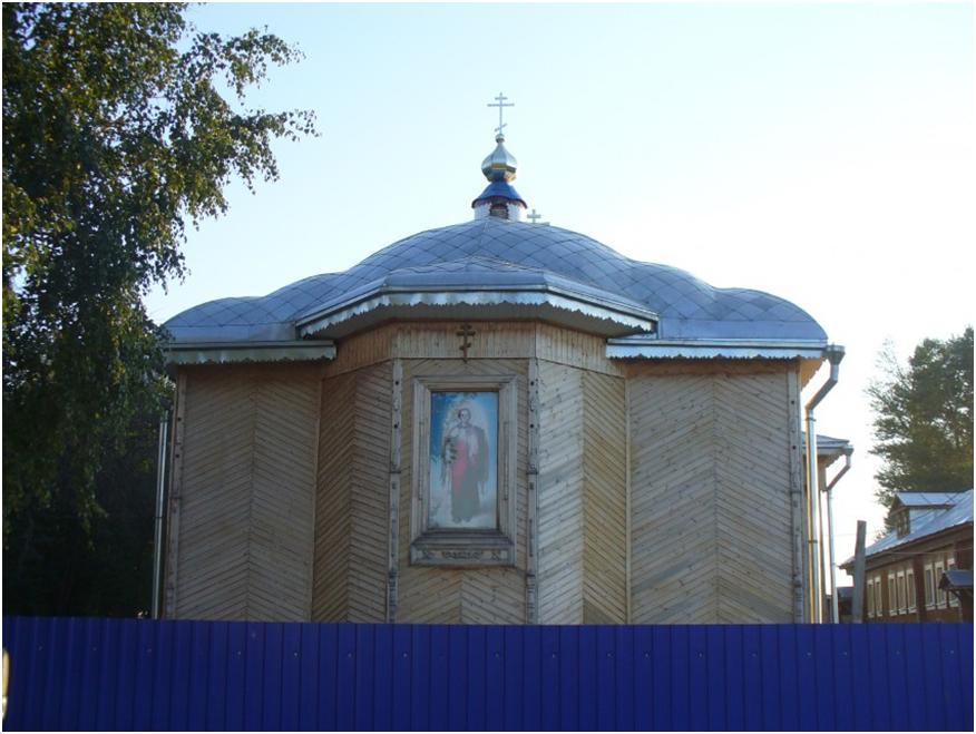 Село Старое Чекурское - храм Архангела Михаила, отец Олег и история его жизни