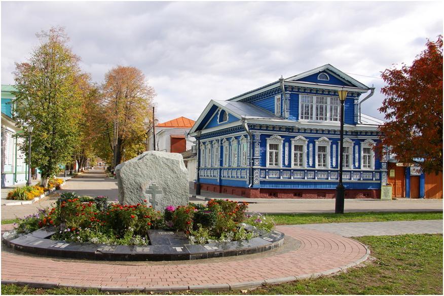 Городец – старинный русский город-музей на Волге и его архитектура