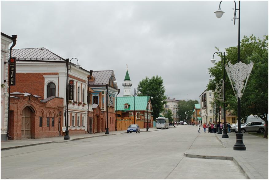 Мечеть в татарской слободе