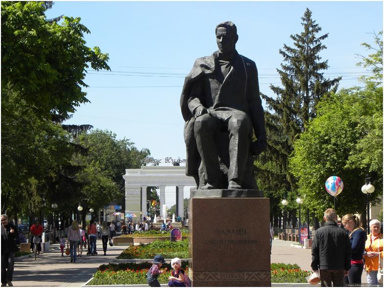 Бульвар Чавайна Йошкар-Ола