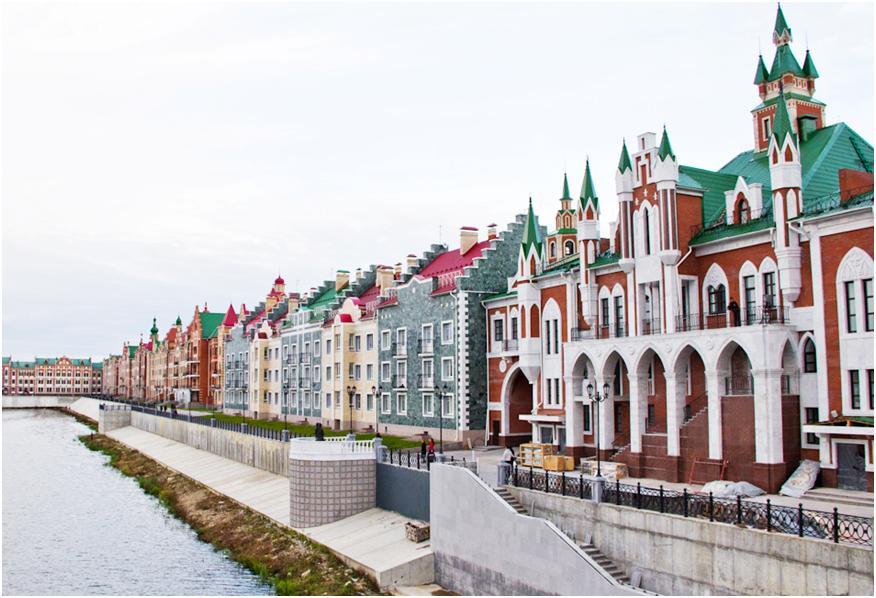 Набережная Брюгге Йошкар-Ола