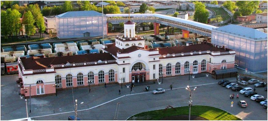 Железнодорожный вокзал Йошкар-Олы