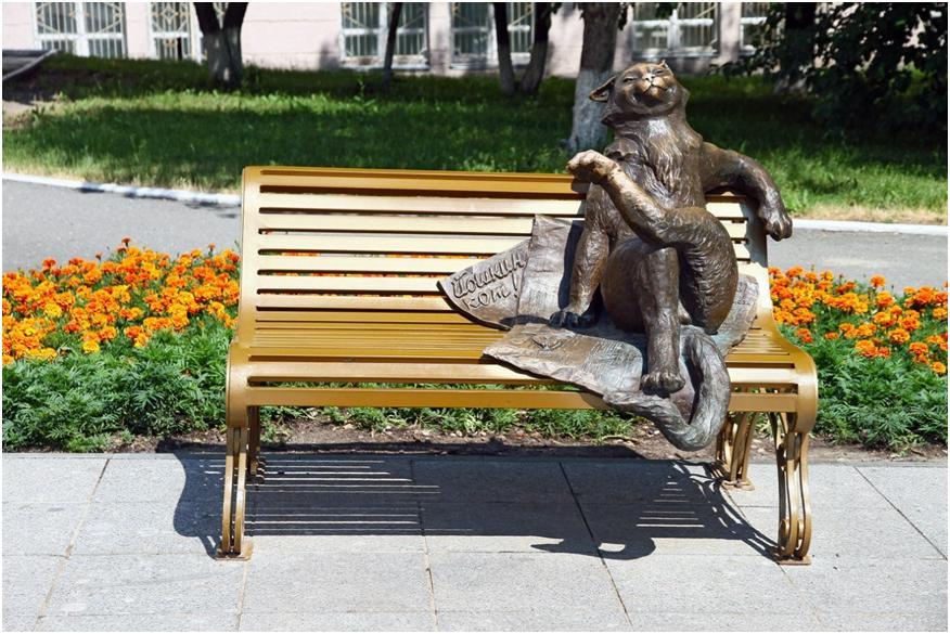Скульптурная композиция Йошкин кот