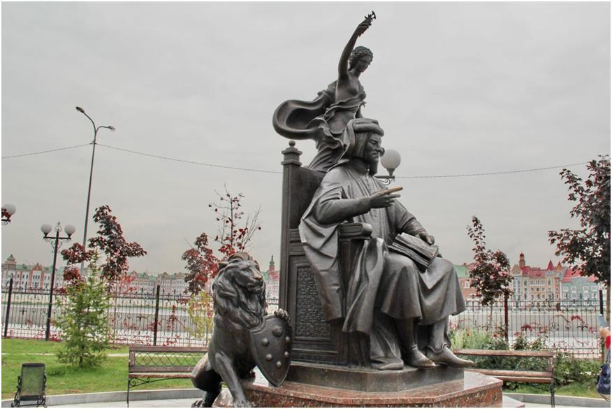 Скульптурная композиция Лоренцо де Медичи