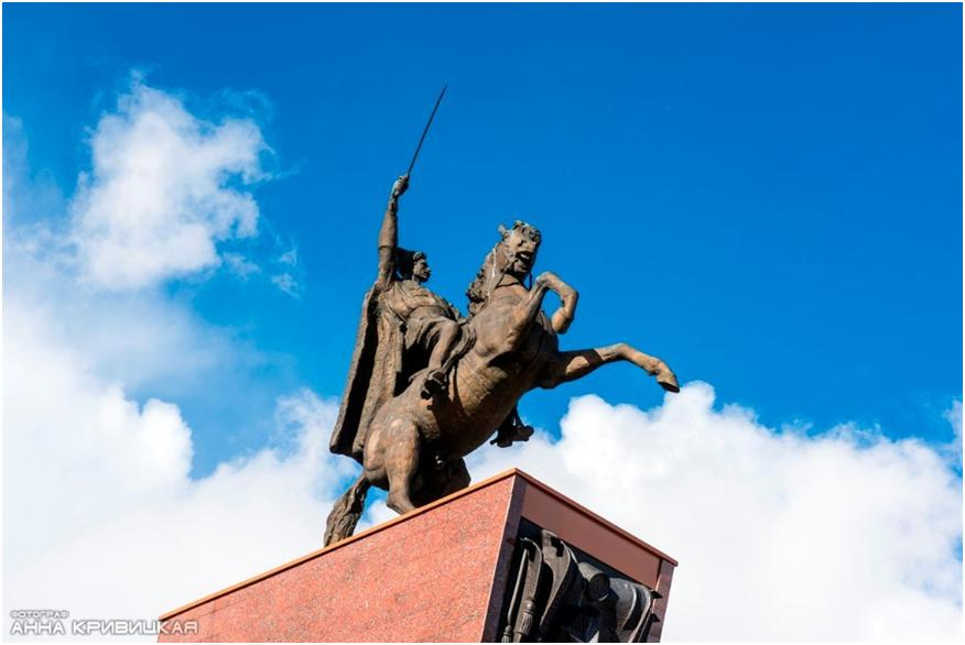 Памятник В.И. Чапаеву