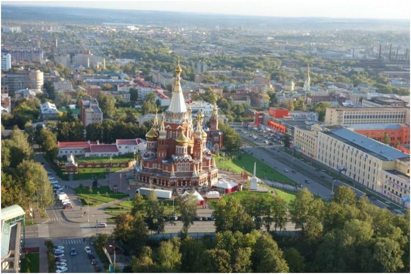 ижевск - столица Удмуртии